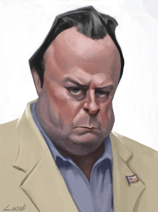 Christopher Hitchens by infernovball