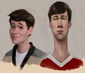 Ferris Bueller by infernovball