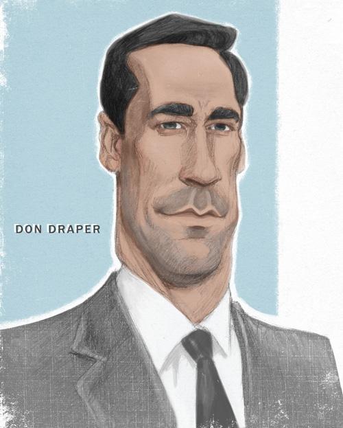 Don Draper by infernovball