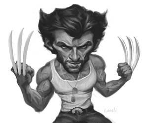 Hugh Jackman - Wolverine Sketch