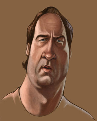 Jim Belushi by infernovball