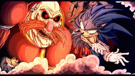- Sonic VS Robotnik -