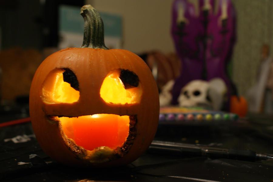 Imhappyplz pumpkin by levimcd