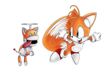 Tails and T-Pup