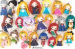 New polymer clay dolls