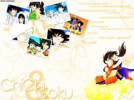 Goku Chichi by Clahp
