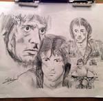John Rambo by ChrisRobinsonsArt