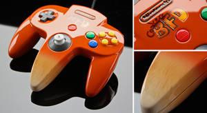 Custom Conker's BFD N64 controller