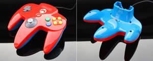 Custom super mario N64 controller
