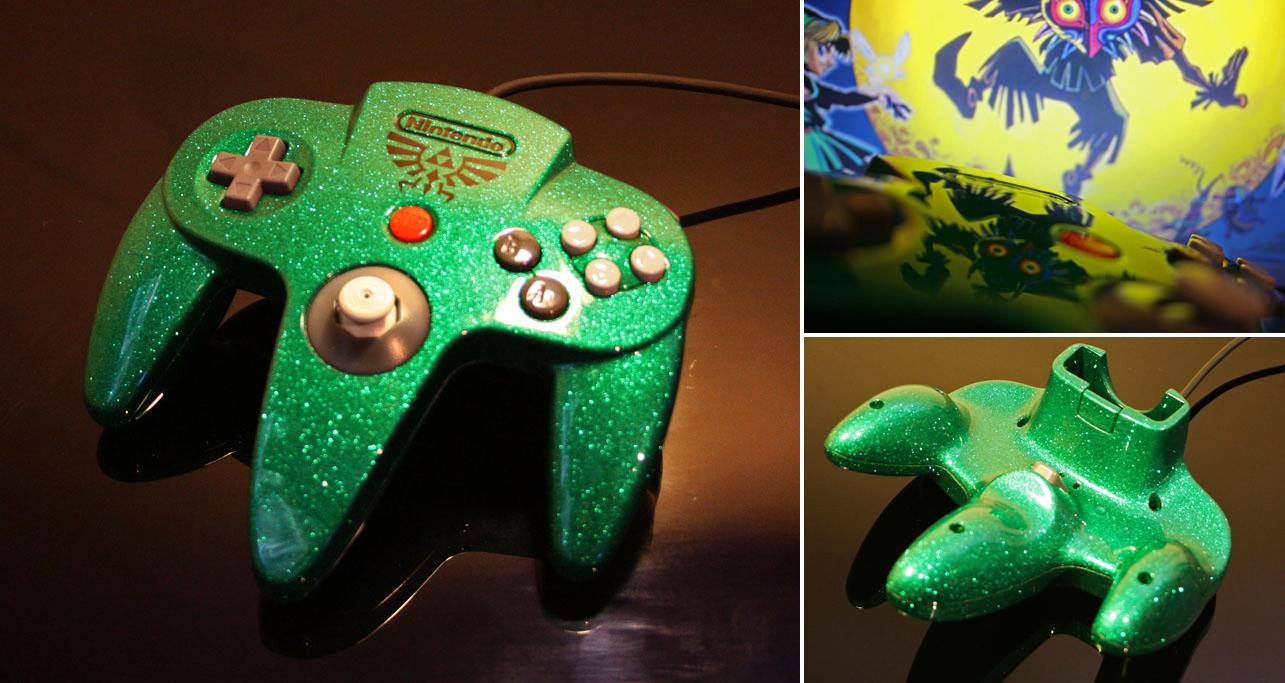 Custom zelda N64 controller