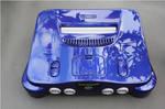 custom painted pearl blue Nintendo 64 N64