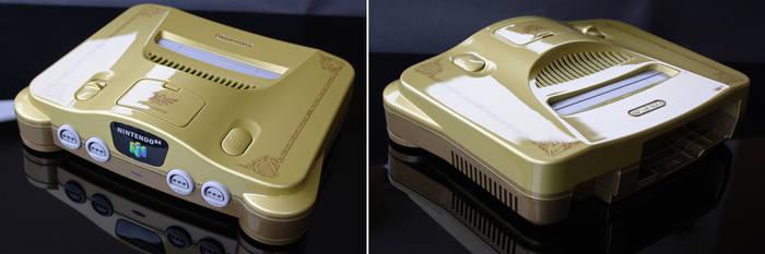 Custom Zelda ocarina of time Nintendo 64 N64