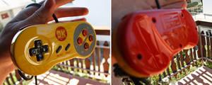 Custom Donkey Kong SNES controller