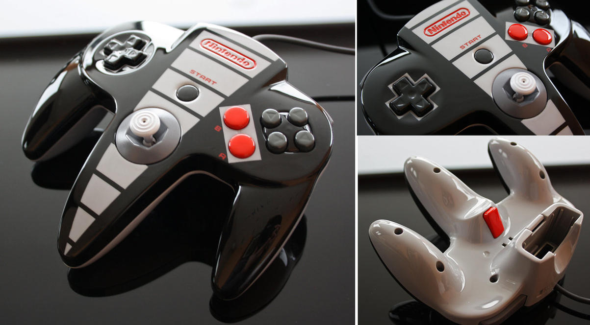 Custom Painted Nes Controller