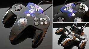 Custom Mortal Kombat Themed N64 Controller