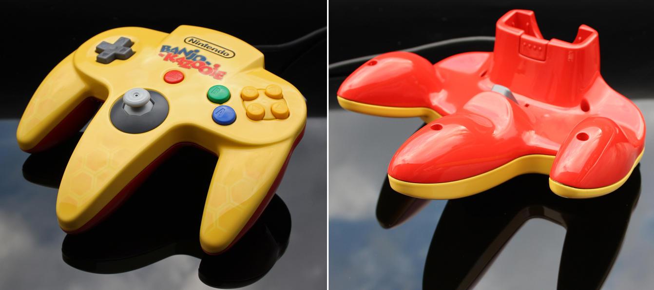 custom Banjo-Kazooie N64 controller by Zoki64 on DeviantArt