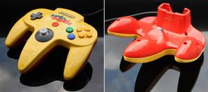 custom Banjo-Kazooie N64 controller