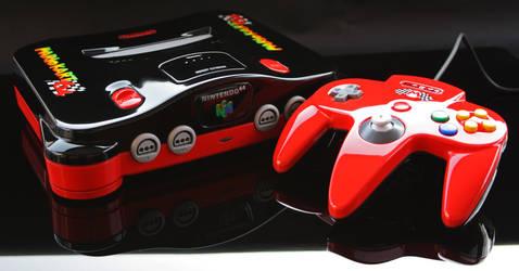 custom Mario Kart 64 Nintendo 64