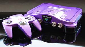 Custom Majora's Mask themed Nintendo 64