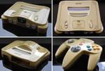 Custom Ocarina of Time themed Nintendo 64