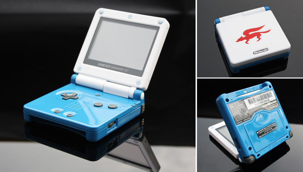 custom Starfox GBA SP
