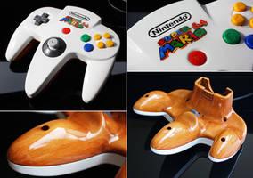 custom Super Mario 64 N64 controller