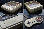 custom Zelda themed Super Nintendo (PAL)