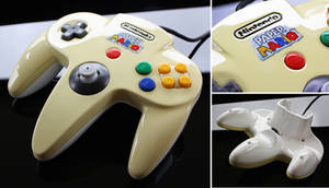 custom Paper Mario N64 controller
