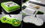 custom Yoshis island SNES