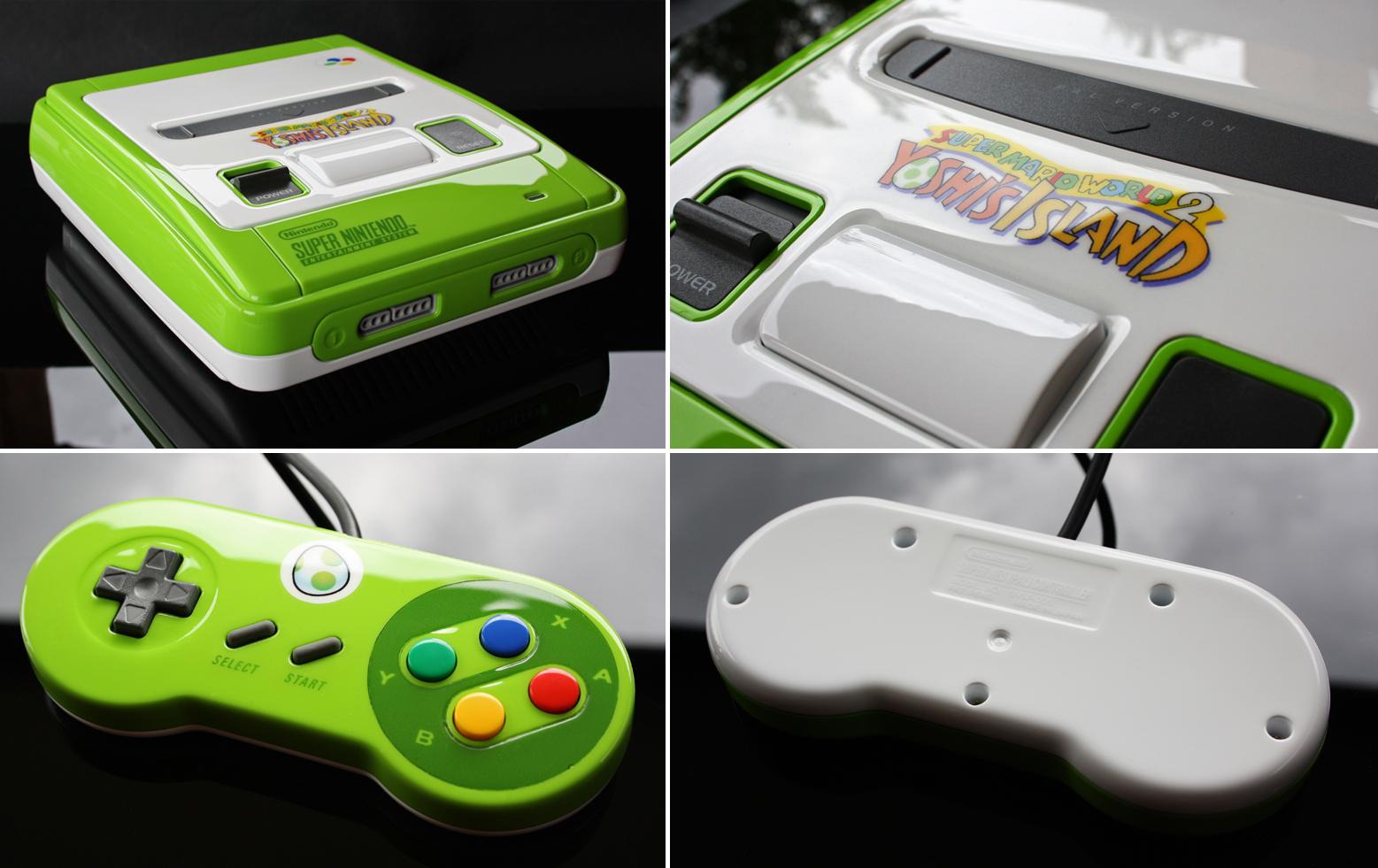 custom Yoshis island SNES by Zoki64