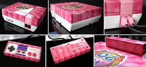 custom Kirby 20th anniversary NES