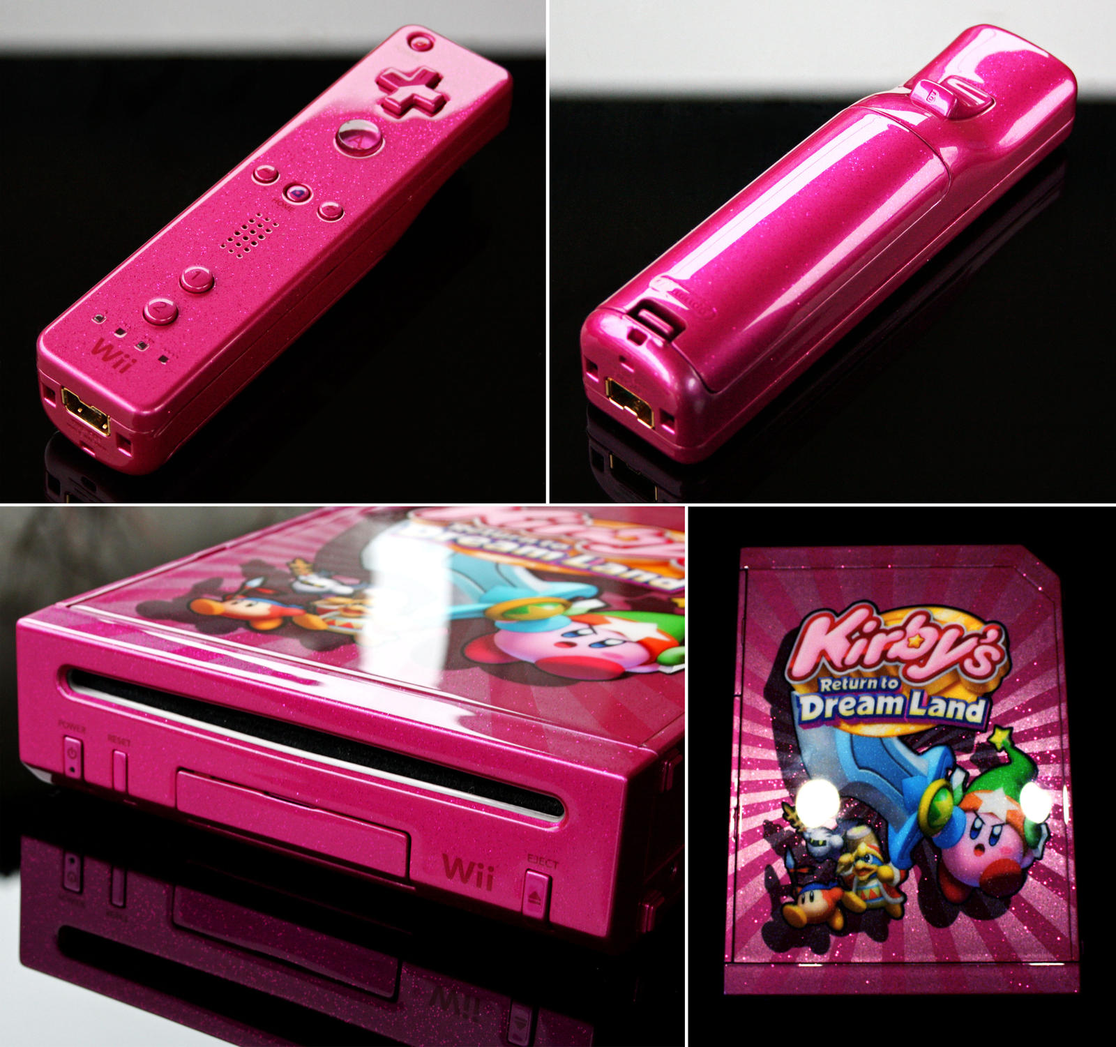 custom Kirbys return to dream land Nintendo wii by Zoki64 ...