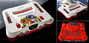 custom Mario Party N64 console