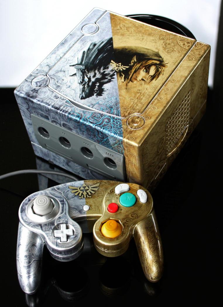 custom Zelda Twilight Princess Gamecube by Zoki64