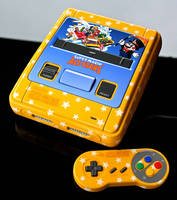 custom Super Mario All Stars SNES with region mod by Zoki64