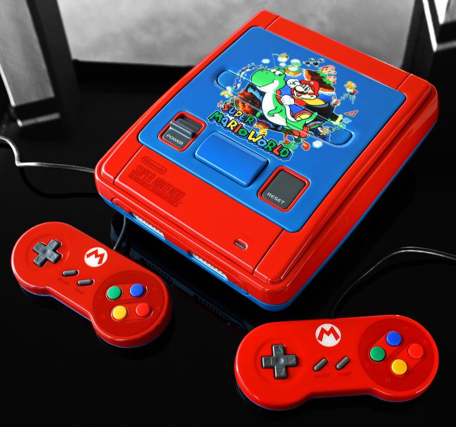 custom Super Mario World SNES by Zoki64