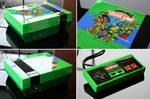 custom TMNT 2 the arcade game NES