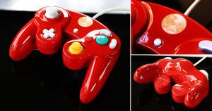 custom Mother/Earthbound gamecube controller