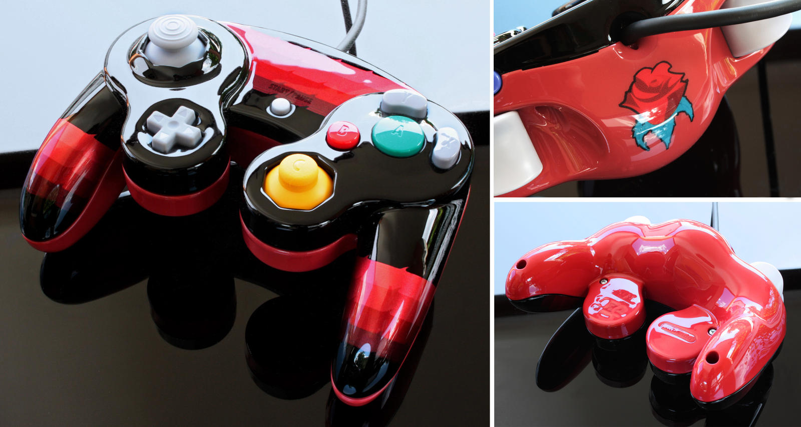 custom Gamecube controller by Zoki64 on DeviantArt