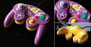custom Pikachu gamecube controller