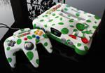 custom Yoshis story N64 console