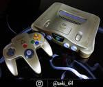 custom Zelda themed N64