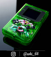 custom Gameboy Pokemon GREEN - venusaur theme  by Zoki64