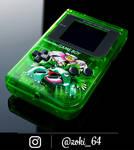 custom Gameboy Pokemon GREEN - venusaur theme