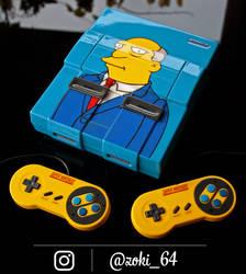 custom Super Nintendo Chalmers by Zoki64