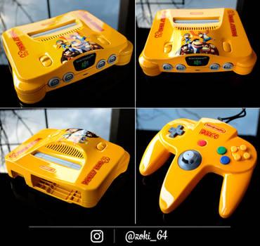custom Donkey Kong 64 nintendo 64