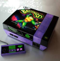 custom Battletoads NES