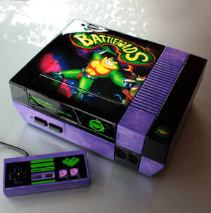 custom Battletoads NES