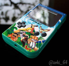 custom Gameboy Zelda Link's Awakening theme