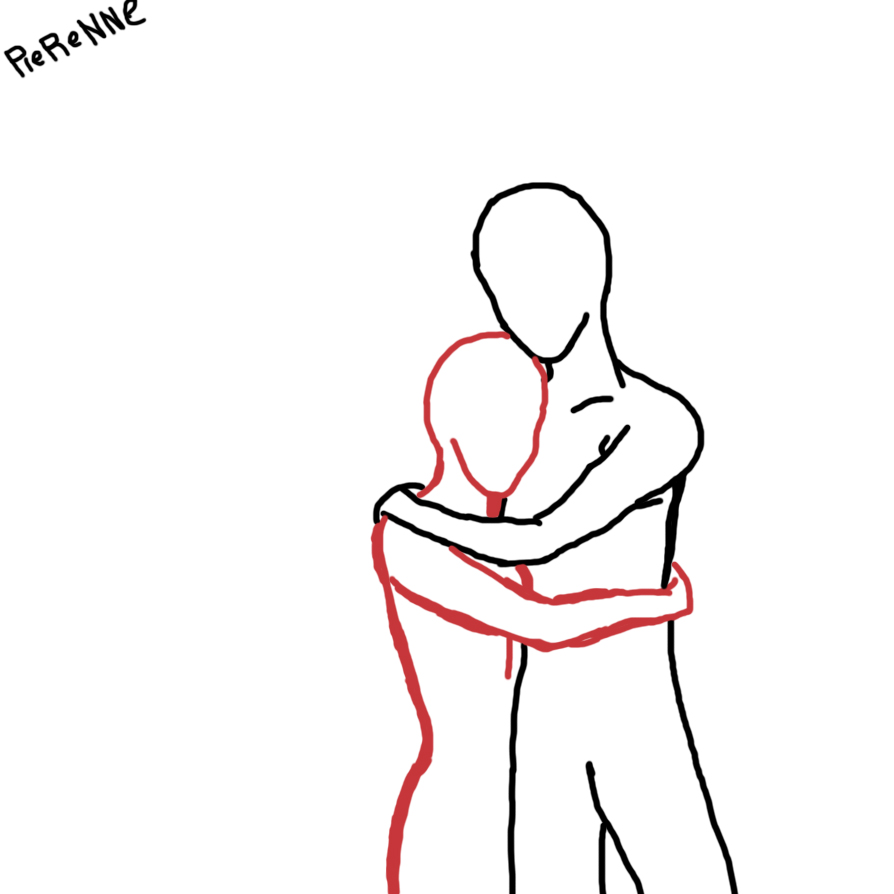 Uncategorized Drawing People Hugging i cant draw people hugging by me pierennephart on deviantart pierennephart